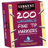 Sargent Art® Best-Buy Washable Marker Assortment, Fine Tip