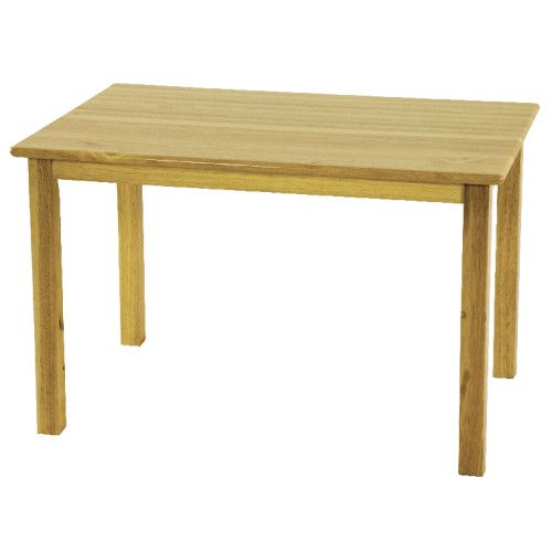 Charmant Deluxe Hardwood Table, 24 X 36 Rectangle With 18 Legs