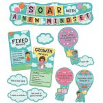 Up and Away Soar with a New Mindset Mini Bulletin Board Set