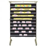 Standard Pocket Chart, Black