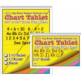 Brite Chart Tablet, 24 x 32, 1 1/2 Ruled