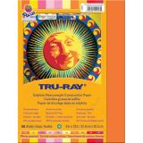 Tru-Ray® Fade-Resistant Construction Paper, 9 x 12, Warm Assorted
