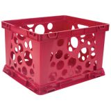 Interlocking Crate, Micro, Red