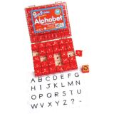 Manuscript Alphabet Stamps, Uppercase