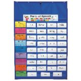 Original Pocket Chart, Blue