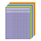 Vertical Incentive Chart Set, Assorted Colors
