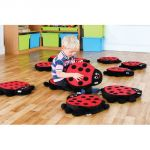 Back to Nature™ Ladybug Counting Story Cushions