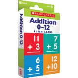 Addition 0–12 Flash Cards