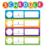 Color Your Classroom! Schedule Mini Bulletin Board Set