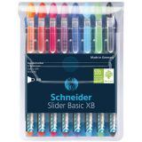 Schneider® Slider XB Ballpoint Pens, 8-color assortment