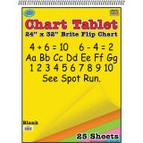 Brite Chart Tablet, 24 x 32, Blank