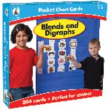 Blends & Digraphs Pocket Chart Cards