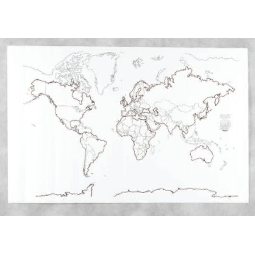 Giant Maps World Pac78770