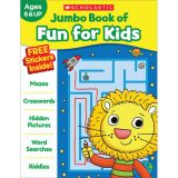 Jumbo Fun Workbooks, Fun for Kids