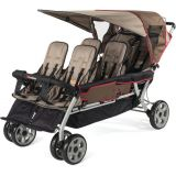 LX6™ Six Child Stroller, Earth Scape