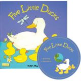 Classic Books with Holes plus CD, Five Little Ducks