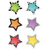 Designer Cut-Outs, Stars, 6