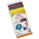 Rainbow® Kraft Bags, Assorted Bright Colors, Pack of 28