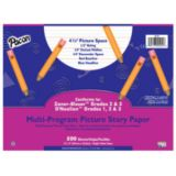 Picture Story Paper, 12 x 9, D'Nealian™ (1, 2, & 3), Zaner-Bloser™ (2 & 3), Ream
