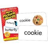 More Picture Words Flash Cards