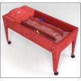 Wave Rave™ Activity Center with Sand & Water Table, Red