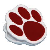 Maroon Paw Magnet Clip