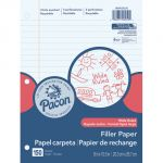Pacon® Filler Paper, Wide Rule, 3/8