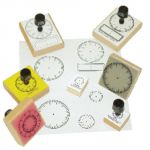 Digital Clock Stamp