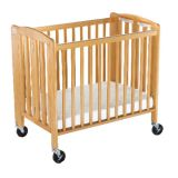 HideAway™ Compact-Size Folding Crib
