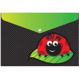 Smart Poly™ Folder, Ladybug