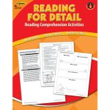 Reading for Detail Reading Comprehension Activities, Red Level