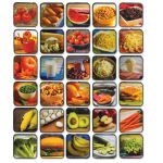 Sensory Builder® Carpet Squares, Foods
