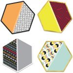 Aim High Colorful Cut-Outs®, Hexagons