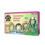 Animal Magnetism Horseshoe Magnet Friends: Wildlife
