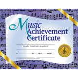 Music Achievement Certicificate