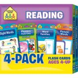 Reading Flash Cards 4-Pack