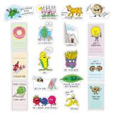 So Much Pun Positive Phrases and Reminders Mini Bulletin Board Set