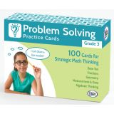 Problem Solving Practice Cards, Grade 3