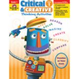 Critical & Creative Thinking Activities, Grade 1