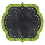 Designer Cut-Outs, Chalk It Up! Chart Cards, 6