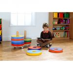 Donut™ Multi-Seat Cart with 12 Bi-Color Cushions