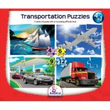 Transportation 4 in 1 Puzzles