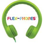 Flex-Phones™ Indestructible Foam Headphones, Green