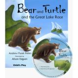 Traditional Tale with a Twist, Bear and Turtle and the Great Lake Race