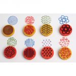 Paint & Clay Finger Printers, Set of 8