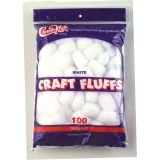 Craft Fluffs, White