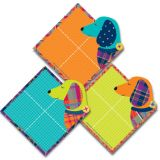 Plaid Attitude Paper Cut-Outs, Dogs