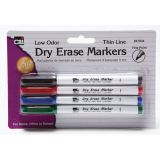 Fine Point Dry Erase Markers