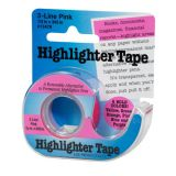 Removable Highlighter Tape, Pink